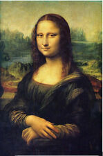 Modern Art Oil Painting On Canvas---Mona Lisa's Smile (No Framed) 24 By 36 Inch