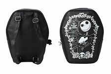 Disney The Nightmare Before Christmas Jack Skellington Cameo Coffin Backpack NEW