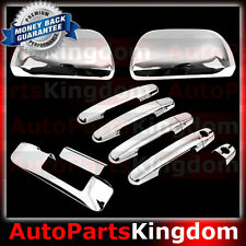 12-15 2015 TOYOTA TACOMA Chrome Mirror+4 Door Handle+Tailgate Camera hole Cover