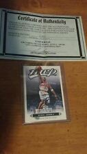 Michael Jordan Autographed Card - Upper Deck MVP - Washington Wizards - COA