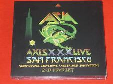 Axis XXX: Live in San Fransisco MMXII [2CD/DVD] by Asia Box (CD, Jun-2015)