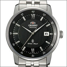 Orient Agent Automatic Watch with Pin-Stripe Dial, Sapphire Crystal #ER02002B