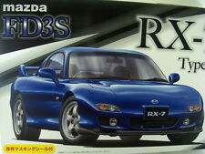 NEW FUJIMI MAZDA FD3S RX-7 TYPE RS 1/24 Scale PLASTIC MODEL KIT