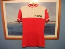 RETRO VINTAGE ACRYLIC CYCLE JERSEY - SIZE MEDIUM