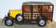 MATCHBOX MODELS YESTERYEAR LESNEY MADE IN ENGLAND  1981 FORD A 1930 Y21/Y22