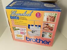 Brother 1034D 3/4 Lay-In Thread Serger Sewing Machine