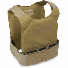 Bulldog Discreet Low Profile Covert Lightweight Plate Armour Carrier Coyote Tan