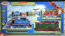 BACHMANN G GAUGE 'THOMAS & FRIENDS' CHRISTMAS DELIVERY TRAIN SET NEW #227w