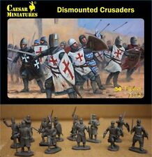 Caesar Miniatures 1/72 Dismounted Crusaders # 086