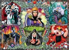 RAVENSBURGER DISNEY VILLAINS JIGSAW PUZZLE WICKED WOMEN 1000 PCS #19252 GOTHIC
