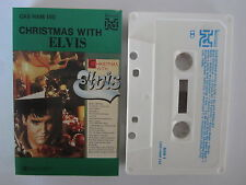 ELVIS PRESLEY CHRISTMAS WITH ELVIS AUSTRALIAN RELEASE CASSETTE TAPE