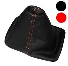 Soufflet de levier vitesse noir CUIR coutures rouges pour VW New Beetle 97-10