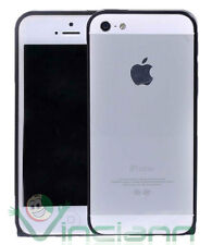 Custodia BUMPER metallo BLACK per Apple iPhone 5s 5 alluminio NERO nuovo