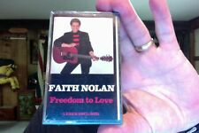 Faith Nolan- Freedom to Love- new/sealed cassette tape- rare?