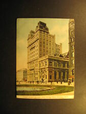 Temple Barand Savings, Brooklyn, N.Y., used  postcard,about 1905, undivided back