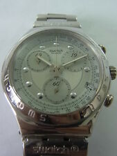 YCS400 Swatch - 1996 Irony Chrono Rough & Rugged Big Size Swiss Made Authentic