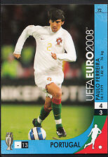Football Card - Panini UEFA Euro 2008 - No 72 - Portugal - Paulo Ferreira