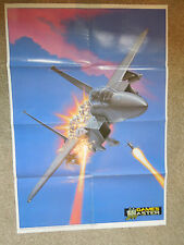 "Original Vintage Super Strike Eagle & Diver Poster - SNES.  Large - 33"" x 23"""