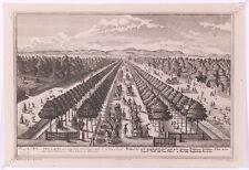 """J.A. Corvinus (1683-1738) """"Vienna View"""", Copper Engraving after Salomon Kleiner"""