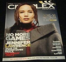 CINEPLEX magazine 2015, Jennifer Lawrence, Hunger Games, Angelina Jolie
