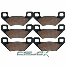 Front Rear Brake Pads For Arctic Cat Mudpro 700i / 700i LTD 2011 2012 2013 2014