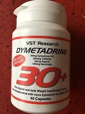 X 2 Tubs VST Research Dymetadrine 30+ T5 EXTREME FAT BURNER WEIGHT LOSS ECA