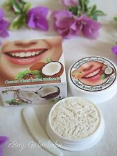 25g Coconut Oil Toothpaste Herbal Natural, Clove, Mint, Teeth Whitening