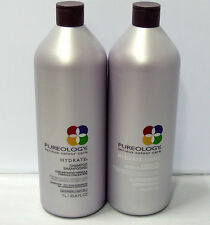 Pureology Hydrate Shampoo and LIGHT Conditioner 33.8 oz Liter Set Duo Antifade
