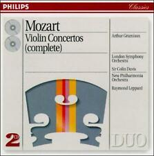 Mozart: Violin Concertos (Complete) by Wolfgang Amadeus Mozart, Raymond Leppard