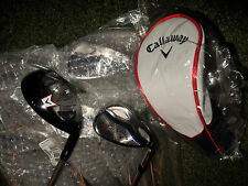 SWEET NEW  GOLF CLUBS  CALLAWAY   X2 HOT IRON AND HYBRID SET  5H-SW STIFF FLEX