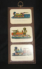 Antique Train Display Wall Plaque