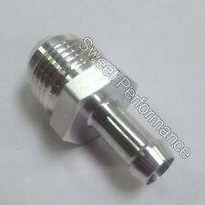 -8 AN Male Flare to 5/16 8mm Hose Barb Adapter, Nylon Plastic Fuel Hose Fitting