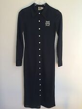 John-Paul Gaultier JPG Shirt Dress Fab Old School Football Jersey Fabric Size XS