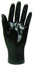 MN-HandsM BLACK LEFT Male Mannequin Hand (BLACK ONLY)