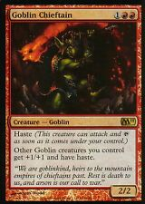 Goblin Chieftain foil | ex | m11 | Magic mtg