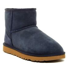 New in Box - $149.00 UGG Australia Classic Mini Lamb Fur Navy Boots Size 6