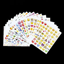 48 Die Emoji Smile Face Stickers Pack Decor Stickers For iPhone Twitter Cute