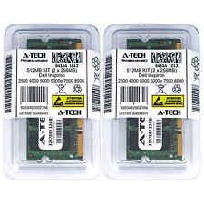 512MB KIT 2 x 256MB Dell Inspiron 2500 4000 5000 5000e 7500 8000 Ram Memory