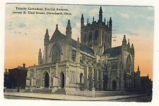Vintage Postcard (1911) - Trinity Cathedral Euclid Ave Clev Ohio - Posted 1800