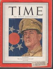 Time Magazine MacArthur WWII August 27 1945 Tokoyo