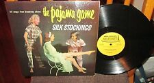 THE PAJAMA GAME/SILK STOCKINGS LP CHEESECAKE COVER Hit Songs from Broadway Plays
