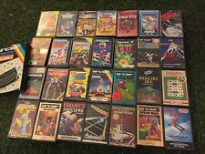 29 SINCLAIR ZX SPECTRUM 48K TAPE GAMES BUNDLE JOB LOT disco dan pitman seven +++