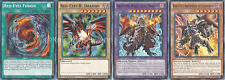 Red-Eyes B. Dragon Deck - Flare Metal Dragon - Black Stone - 44 Cards + Bonus