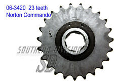 06-3420 GEARBOX SPROCKET 23 teeth Norton Commando PIGNONE GETR. 530 5/8x3/8 CHAIN