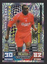 Match Attax 2014/2015 - Record Breaker - 436 Emile Heskey - Liverpool