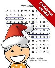Happy Grandma's Word Search Books : Christmas Words by Word Search Word...