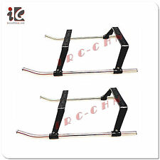 2pcs LANDING GEAR SKIDS UNDERCARRIAGE DH 9116 RC Helicopter Spare Parts 9116-18