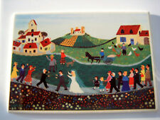 Villeroy & Boch Vilbo Card Le Cortege Nuptial/Wedding Procession W.Germany