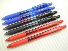 Pentel EnerGel Ener Gel BL107 0.7mm Rollerball Gel Ink Pen, 2 Black 2 Blue 2 Red
