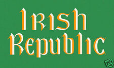 "IRISH REPUBLICAN"" IRISH REPUBLIC FLAG"" 5FT X 3FT EASTER RISING DUBLIN REBEL"